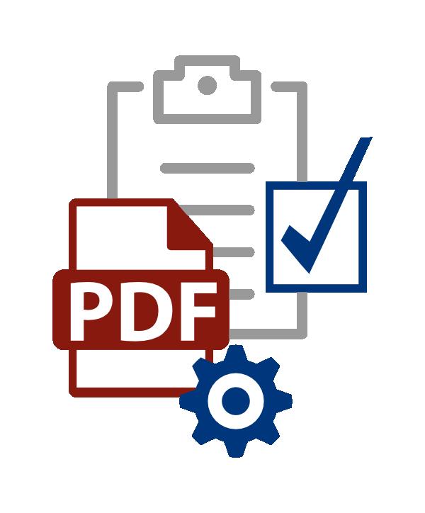 Bestell-PDF zu XML prüfen
